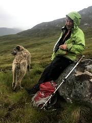 With Karhu on Carn Ghlusaird (andywalker1) Tags: andrewwalker scotland karhu irishwolfhound wolfhound paddywhack