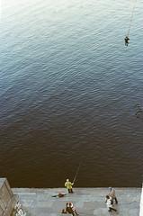 (trom.pom) Tags: 35mm canonae1program kyiv київ ukraine dnipro river street fishing analogue filmphotography kodak