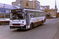 WESTERN SCOTTISH AL641 GCS41V (bobbyblack51) Tags: western scottish al641 gcs41v leyland leopard alexander y type westernsmt l41 ayr bus station 1994