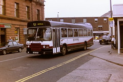 WESTERN SCOTTISH AL795 MSO10W (bobbyblack51) Tags: western scottish al795 mso10w leyland national alexander northern npn10 ayr 1994