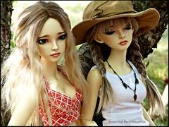 Summer vibes (Essential Resinescence) Tags: doll bjd fairyland mirwen feeple ooak repaint angeltoast