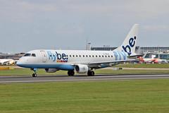 G-FBJA Embraer 170-200STD Flybe MAN 23-07-19 (PlanecrazyUK) Tags: egcc manchester ringway manchesterairport gfbja embraer170200std flybe man 230719