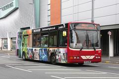 Warrington's Own Buses 47 DK55 HMH (johnmorris13) Tags: dk55hmh vdl sb120 wrightcadet wrightbus bus