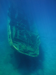 Shipwreck IV (story_of_light) Tags: underwater dive greece history past experience wreck sunk sunken ancient snorkeling