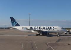 Airbus A320 (magro_kr) Tags: colombiersaugnieu francja france rodanalpy rhônealpes rhonealpes lys lfll aigleazur airbus a320 samolot lotnisko portlotniczy airplane aircraft airport