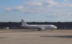 Airbus A320 (magro_kr) Tags: colombiersaugnieu francja france rodanalpy rhônealpes rhonealpes lys lfll tunisair airbus a320 samolot lotnisko portlotniczy airplane aircraft airport