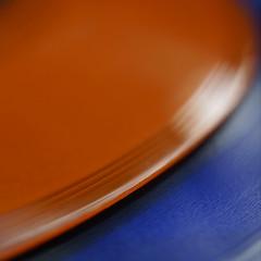 Transit No More (Ben Wightman) Tags: macromondays orange blue complementary colours