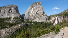 Liberty Cap (Robert Wash) Tags: california ca yosemitenationalpark yosemite libertycap nevadafall mtbroderick johnmuirtrail