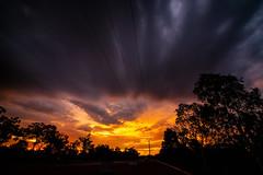 Sunset (Markus Branse) Tags: australia sunset abend evening tropen abendrot rot rood red roughe night sun sonnenuntergang sol wolken wetter weather territory northern australien aussie oz australie austral cloud clouds cloudy himmel heaven sky idylle
