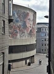 Mural by Herakut (chdphd) Tags: herakut aberdeen aberdeenshire