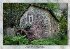 Ashford Bobbin Mill on the River Wye, Derbyshire (setsuyostar) Tags: ashfordbobbinmill watermill wyevalley derbyshiredales canoneos5dii hdrtriplet topazstudio photomatixpro summer2019 august2019 kenhawley