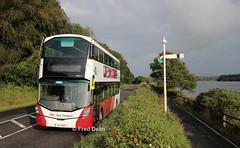Bus Eireann VWD71 (172C4397). (Fred Dean Jnr) Tags: buseireann volvo b5tl wright eclipse gemini3 vwd71 172c4397 crosshaven cork august2019 semaphoresignal corkblackrockpassagerailway greenway cbpr wrightbus