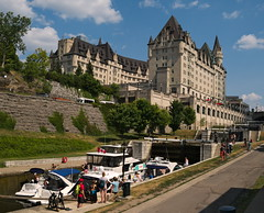 View on Rideau Canal and Fairmont Château Laurier Hotel. (Leszek Wronski :)) Tags: leszekwronski g7 dmcg7 mft m43 ottawa rideaucanal hotel water canal view people panasoniclumixdmcg7 panasonicdmcg7 panasonicg7 panasonic lumixdmcg7 lumixg7 lumix 1442f3556 fairmontchâteaulaurierhotel