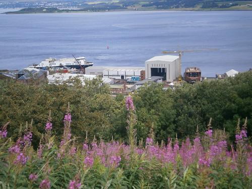 Fergusons Ship Yard Port Glasgow