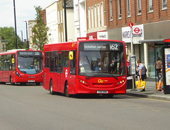 GAL 178 - YX61ENW - ELTHAM HIGH STREET - SAT 3RD AUG 2019 (Bexleybus) Tags: goahead go ahead london eltham high street south east se9 shopping centre metrobus adl dennis enviro 200 178 yx61enw tfl route 162