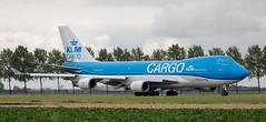 B747 | PH-CKA | AMS | 20190803 (Wally.H) Tags: boeing 747 boeing747 b747 phcka klm royaldutchairlines martinair cargo ams eham amsterdam schiphol airport