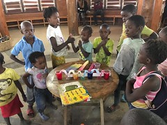 Art and Science with Samantha Hyde (Lubuto Library Partners) Tags: lubutolibrarypartners lubutolibraries publiclibraries lubuto library zambia africa children youth ovc music dance art drama science colorscience storytime