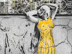 how to dress up a sculpture #digitalart #collage #drawing #adobesketch #photoshop (MarkusBaumgartner) Tags: digitalart collage drawing adobesketch photoshop
