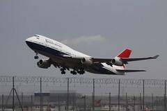 G-CIVB Boeing 747-436 British Airways (FokkerAMS) Tags: boeing747 britishairways gcivb negus