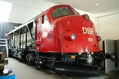 DSB: MY 1112 im Danmarks Jernbanemuseum in Odense (Helgoland01) Tags: nohab diesellok dsb dänemark danmark denmark eisenbahn railway danmarksjernbanemuseum