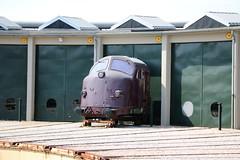 DSB: Führerstand der MY 1129 im Dänischen Eisenbahnmuseum in Odense (Helgoland01) Tags: nohab diesellok dsb dänemark danmark denmark eisenbahn railway danmarksjernbanemuseum my