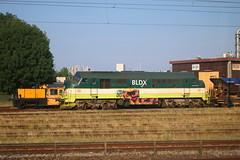 ContacRail Køf 275 + BLDX MX 1019 in Køge (Helgoland01) Tags: nohab diesellok dsb dänemark danmark denmark eisenbahn railway köf bldx køf mx køge