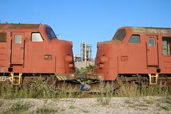 BLDX: MX 1018 und MX 1040 in Køge (Helgoland01) Tags: nohab diesellok dsb dänemark danmark denmark eisenbahn railway køge