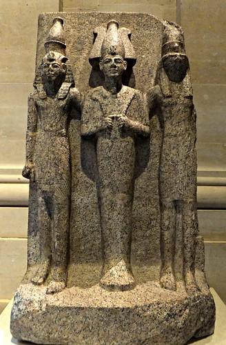 Egyptian Halls, Louvre Museum, Paris, France