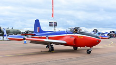 BAC Jet Provost T.3 c/n PAC/W/13901 United Kingdom Air Force serial XN637 (Erwin's photo's) Tags: show england force display aircraft aviation air united kingdom static fairford 2019 riaat cn jet t3 serial bac provost xn637 pacw13901