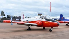 BAC Jet Provost T.5 c/n EEP/JP/988 United Kingdom Air Force serial XW324 code U (Erwin's photo's) Tags: united kingdom fairford show england force display aircraft aviation air static 2019 riaat jet bac provost cn code u t5 serial xw324 eepjp988