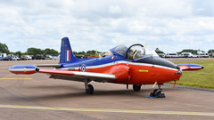 BAC Jet Provost T.5B c/n EEP/JP/989 United Kingdom Air Force serial XW325 (Erwin's photo's) Tags: england air united kingdom fairford 2019 riaat show force display aircraft aviation static cn jet serial bac provost t5b xw325 eepjp989