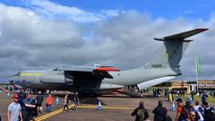Ilyushin Il.76MD c/n 0063468029 Ukraine Air Force serial 76683 (Erwin's photo's) Tags: show england force display aircraft aviation air united kingdom static fairford 2019 riaat cn ukraine serial ilyushin 76683 il76md 0063468029