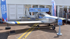Evektor Eurostar EV-97 c/n 2014-4204 registration G-HMCF (Erwin's photo's) Tags: evektor eurostar ev97 cn 20144204 registration ghmcf fairford united kingdom england riaat 2019 air show aircraft display force aviation static