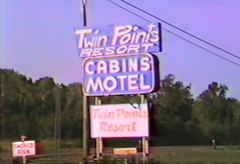 Twin Points Resort (WOODSHED Revisited) Tags: ionasbeach scientific natural area sna minnesota minn mn two harbors lake superior coast shore twin points resort lakeshore waves rhyolite felsite singing hotel cabin rocks boulders ancient lava flow precambrian historic iona lind john donate donation pink peach beach