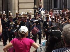 Madrid: devant le Palais royal (Vincentello) Tags: madrid garde tambour drum palais royal