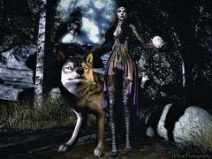 'The tiger and the lion may be more powerful but the wolf does not perform in the circus.'  Anonymous (Raegan Willow) Tags: michan wereclosed lb littlebranch jian egosumaii lumipro lyrikaean miss tlb thelittlebat re realevilindustries su suicideunborn essenz sweetthing formanails swallow kibitz elikatira e genus genusproject genusstrongface strongface maitreya sb soapberry ag aviglam bento drow elven fantasy wolf greywolf mystical exploresl ghostdoll moonlight forest sfw outandabout photography photoshoot poses anypose raeganwillow secondlife secondlifephotography sl secondliferesident slphotography slbeauties slresident virtual virtualword willowphotography willowphotographystudio explore yummy ethereal