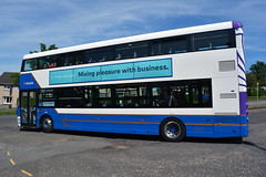 432 (Callum's Buses and Stuff) Tags: lothianbuses bus buses busesedinburgh buseslothianbuses lothian blue skylink granton eclips b5l gemini3 b5tl white airport 200