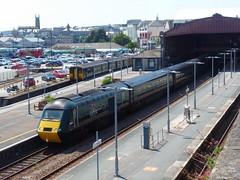 150216 & 150246 & 43170 Penzance (Marky7890) Tags: gwr 43170 class43 hst 2a85 penzance railway cornwall cornishmainline train 150216 150246 class150 sprinter 2c83