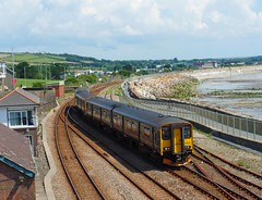 150216 & 150246 Penzance (2) (Marky7890) Tags: gwr 150216 150246 class150 sprinter 2c83 penzance railway cornwall cornishmainline train