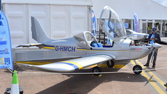 Evektor Eurostar EV-97 c/n 2016-4239 registration G-HMCH (Erwin's photo's) Tags: england united kingdom fairford riaat show force display aircraft aviation air static 2019 cn eurostar registration ev97 evektor ghmch 20164239