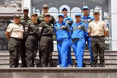 El Ministerio de Gobierno y la Policía Nacional realizaron el lanzamiento del nuevo proceso de reclutamiento. (Ministerio de Gobierno Ecuador) Tags: proceso 2019 reclutamiento gir general aeropolicial escuelas formación técnicos operativos oficiales directivos cadetes aspirantes policía nacional escuela superior maría paula romo