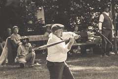 deep river county park. august 2019 (timp37) Tags: deep river county park august 2019 black white swing batter bat indiana baseball player game shriners vs grinders