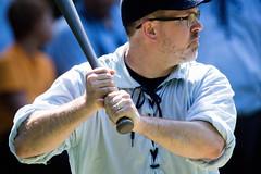 deep river county park. august 2019 (timp37) Tags: deep river county park august 2019 indiana baseball game player field batter bat grinders vs shriners