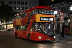 Route N15, Go Ahead London, LT947, LTZ2147 (Jack Marian) Tags: routen15 goaheadlondon lt947 ltz2147 nb4l newbusforlondon borismaster newroutemaster oxfordcircus romfordmarket charingcross charingcrossstation buses bus london