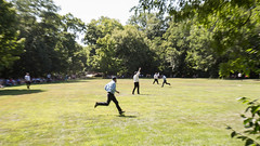 deep river county park. august 2019 (timp37) Tags: deep river county park august 2019 indiana field baseball game players shriners vs grinders
