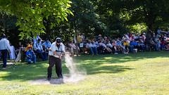 deep river county park. august 2019 (timp37) Tags: deep river county park august 2019 indiana shriners baseball game player batter field dirt dust