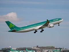 Aer Lingus                                Airbus A330                                  EI-GCF (Flame1958) Tags: aerlingus aerlingusa330 airbus airbusa330 a330 330 eigcf dub eidw dublinairport aerlingusplane 020819 0819 2019 6578