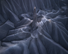 Galactic Spire (D Breezy - davidthompsonphotography.com) Tags: drone dronephotography aerial aerialphotography aerialphotos dji djiphantom4pro phantom4 phantom4proadvanced badlands softlight spire needle landscapephotography perspective