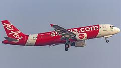 Air Asia India Airbus A320 VT-PNQ Bangalore (BLR/VOBL) (Aiel) Tags: airasia airasiaindia airbus a320 vtpnq bangalore bengaluru canon60d tamron70300vc