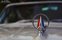 '63 Sport Fury (Hi-Fi Fotos) Tags: 1963 plymouth sport fury hood ornament chrome detail vintage mopar american classiccar bokeh nikon d5000 dx hififotos hallewell